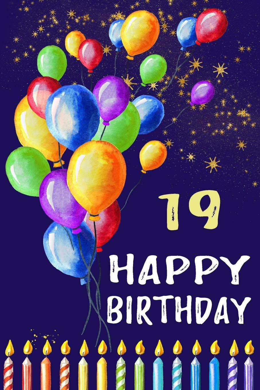 94 Happy 19th Birthday Balloons