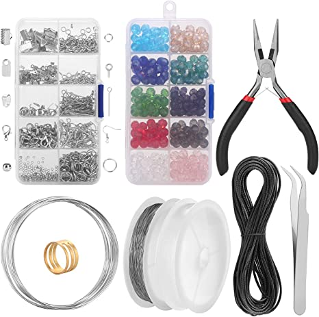 Wholesale 30Pcs DIY Open Beads Needle Jewelry Accessories Making Tools