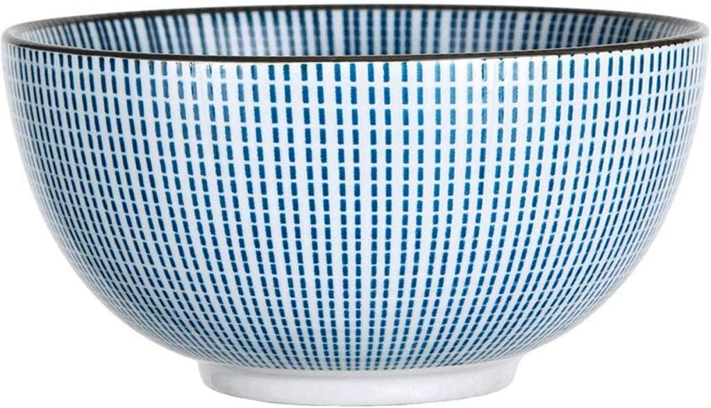 YWSZJ Ensalada Ramen Soup Bowl Super Gran Cereales apilable Redonda Fina Porcelana Pasta Bowl-Sets
