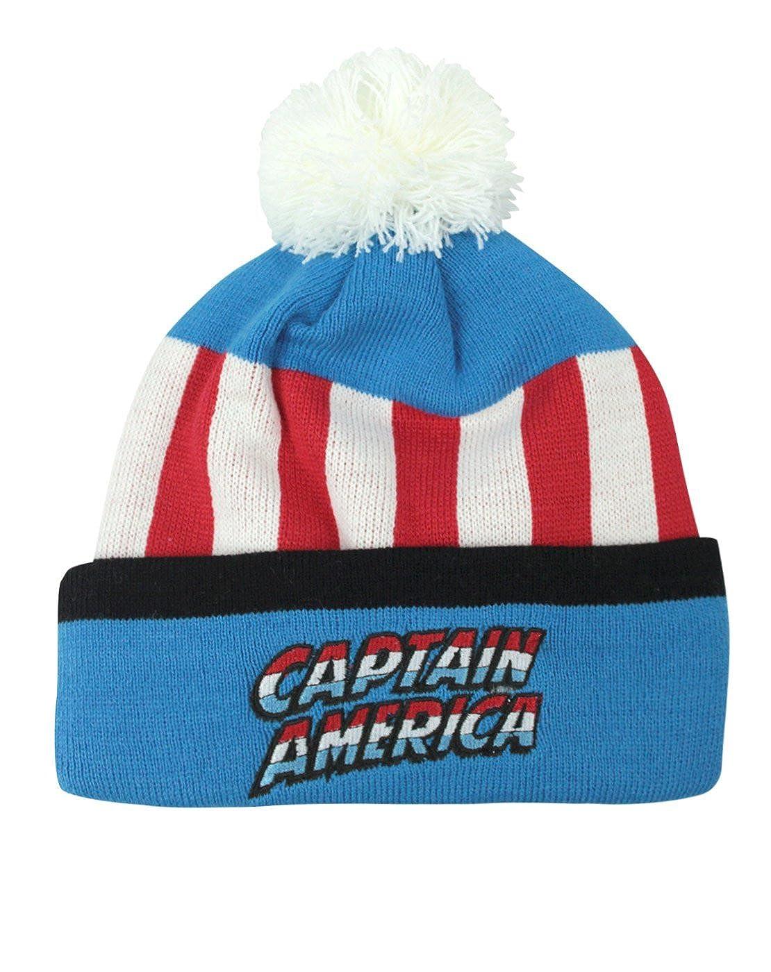 Official Captain America Retro Original Kids Bobble Hat