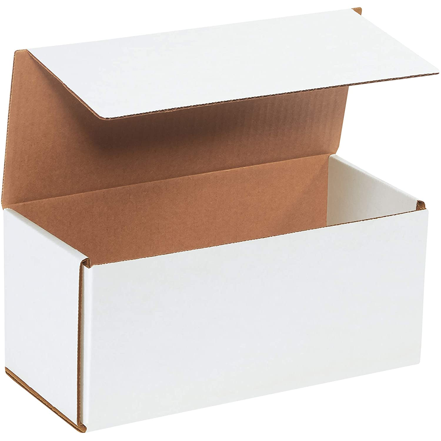 "BOX USA BM1155 Corrugated Mailers, 11"" x 5"" x 5"", White (Pack of 50): Industrial & Scientific"