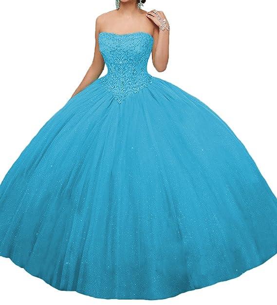 Süße Brautkleider Party Formales Lange Odw Kleider Ballkleider Quinceanera 15 Prinzessin iTkPuXZO