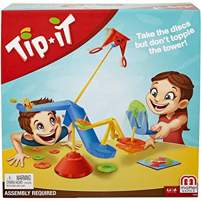 Mattel Games Tip It Game: Toys & Games