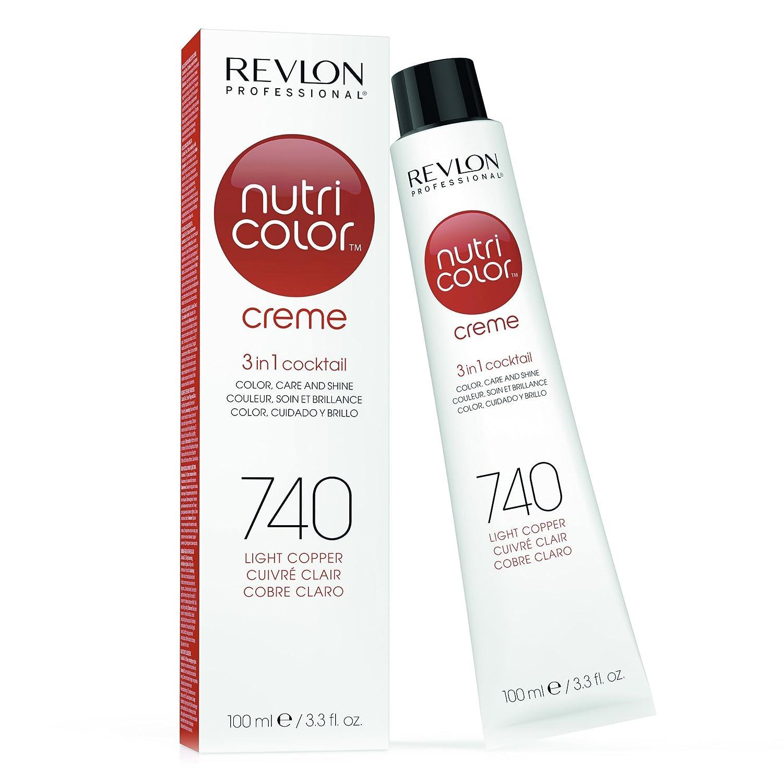 REVLON PROFESSIONAL Nutri Color Creme Tinte Tono 740 Light Copper - 100 ml