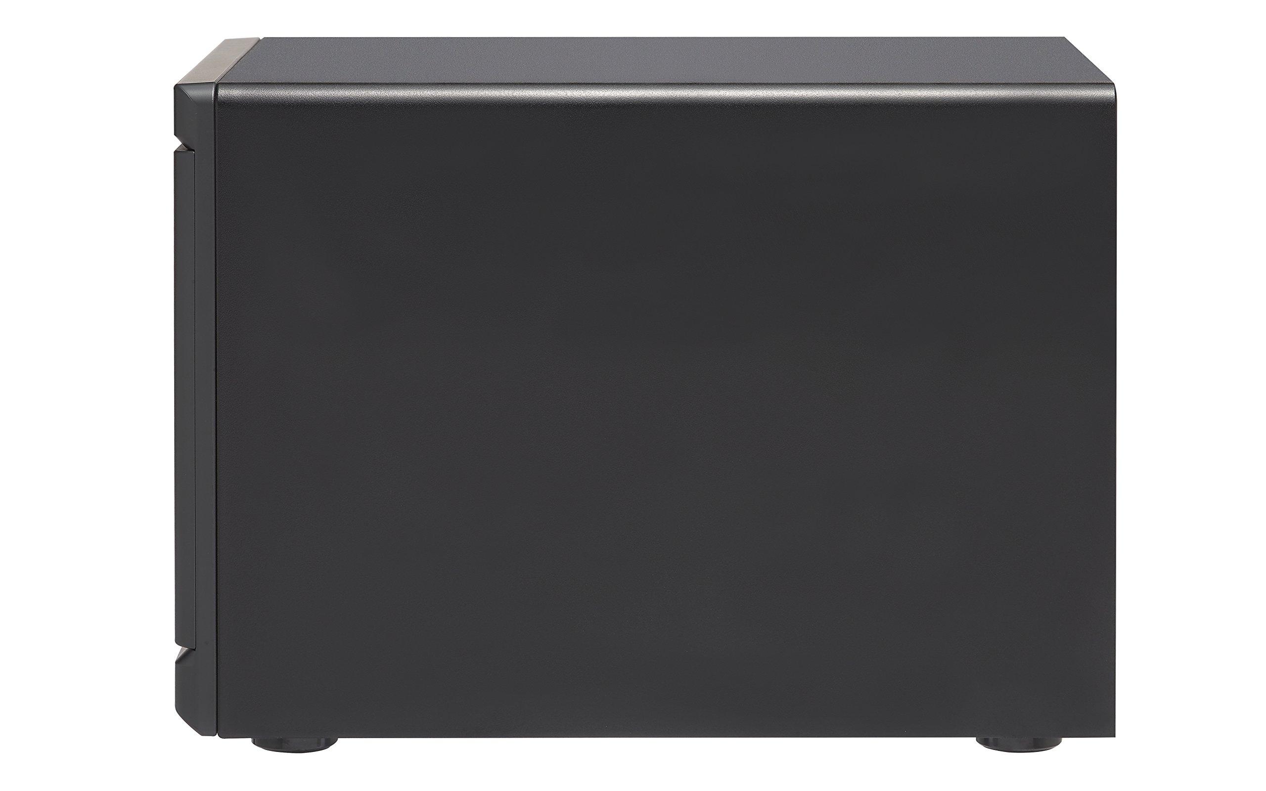 Qnap TVS-1282-i7-64G-US High Performance 12 bay (8+4) NAS/iSCSI IP-SAN, Intel Skylake Core i7-6700 3.4 GHz Quad Core, 32GB RAM, 10G-ready by QNAP (Image #4)