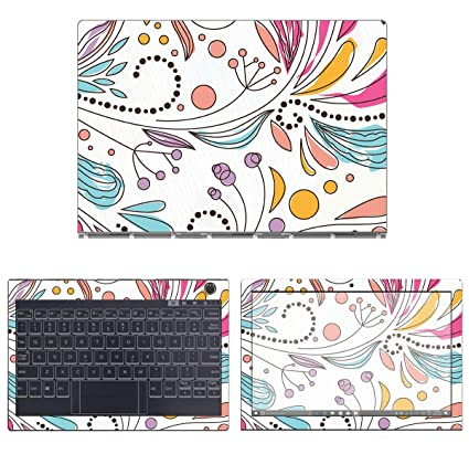 Amazon.com: decalrus - Protective Decal Floral Skin Sticker ...