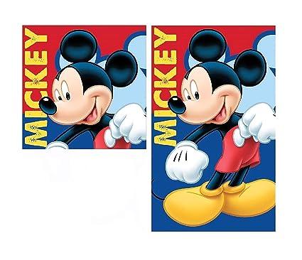 2 TGL Juego de Toallas de Mano – Disney Mickey Mouse – Toalla/Toalla de