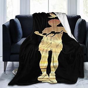 Haikyuu Anime Nishinoya Blanket Classic Fleece Blanket Suitable for Home All-Season Flannel Blankets 60