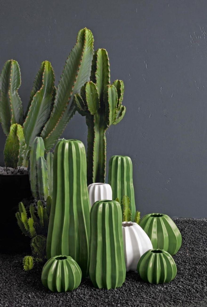 /Ø 17 cm ASA Cactus de cactus Vase Boule H/öhe 14 cm vert