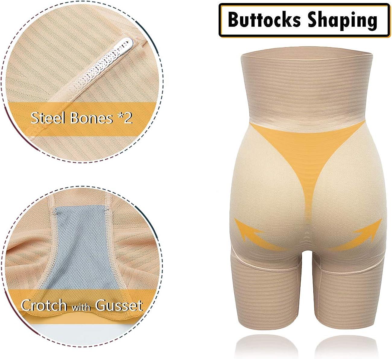 SLIMBELLE/® Femme Culotte Sculptante Gaine Amincissante Taille Haute Ventre Plat Invisible Gainante Lingerie Minceure Panties