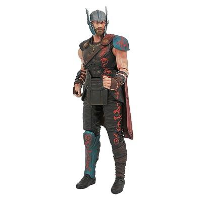 DIAMOND SELECT TOYS Marvel Select: Thor Ragnarok Gladiator Thor Action Figure: Diamond Select: Toys & Games