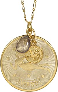 product image for a. v. max Virgo Zodiac Pendant Necklace