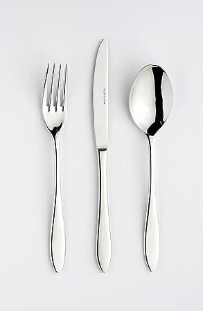 eternum, diseño cubiertos, Milano 969 BL24, acero inoxidable 18/10, glanzpoliert, diseño contemporáneo, Juego de 24 piezas: Amazon.es: Hogar