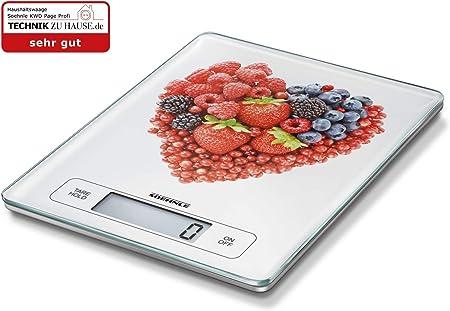 Soehnle 67080 Küchenwaage PAGE Profi Haushaltswaage Waage Digital Gramm genau
