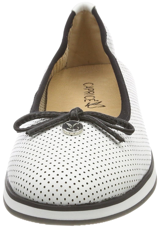 Caprice Damen 22125 Geschlossene Ballerinas, Ballerinas, Ballerinas, Weiß (Weiß Nappa 102) a451e0