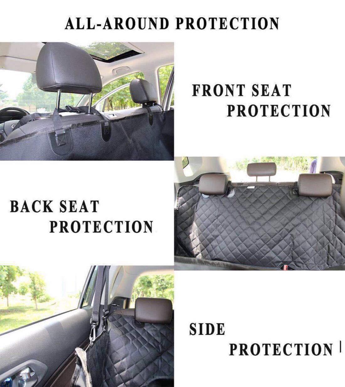 DIDIBABA Dog Car Mat Rear Seat Dog Cover Heavy Duty Dog Hammock-Water Proof /& Anti-Scratch Back Seat Dog Car Mat Nonslip Durable w//Side Flaps