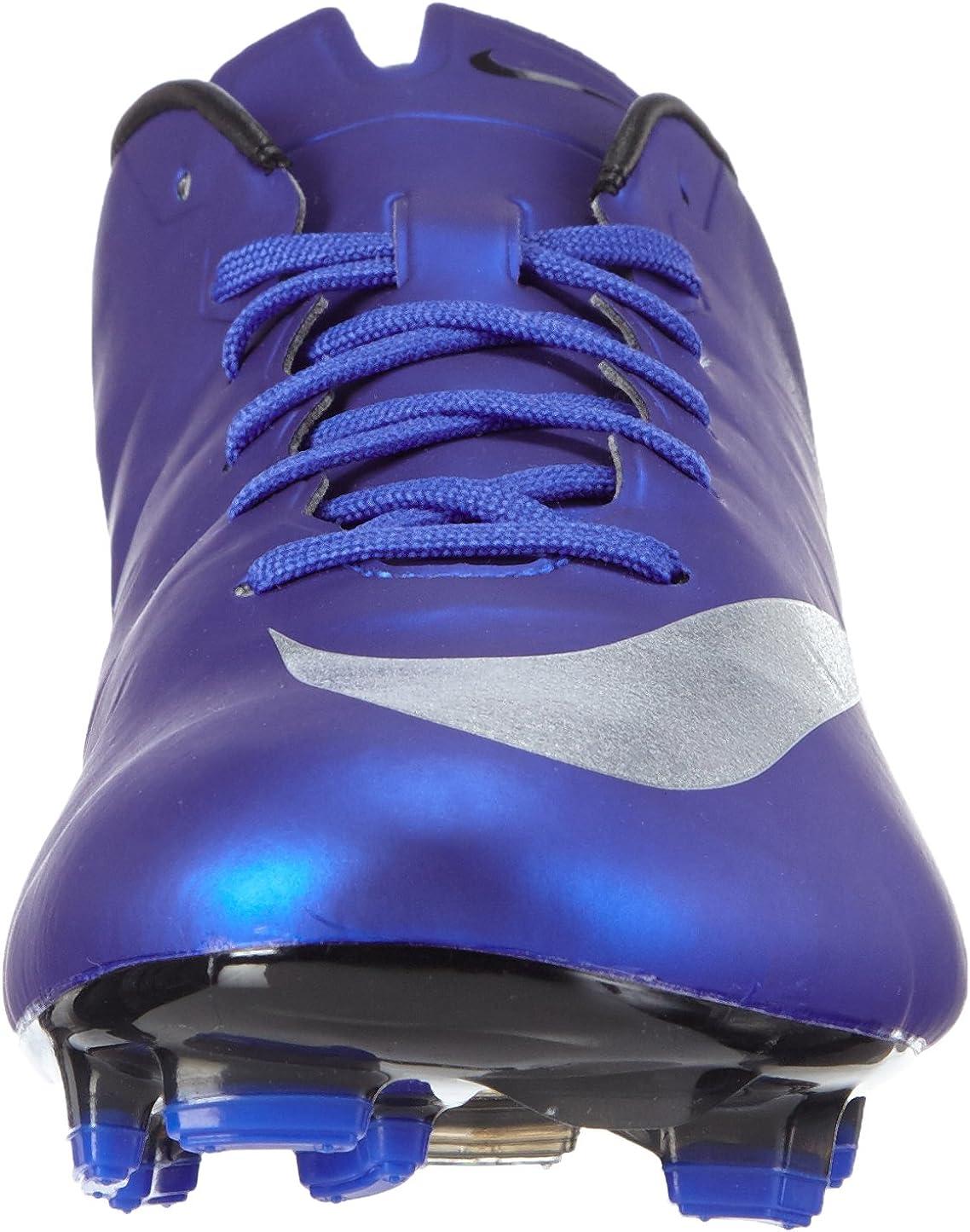 NIKE Mercurial Veloce II CR FG, Botas de fútbol para Hombre Azul Azul Dp Ryl Bl Mtllc Slvr Rcr Bl Bl