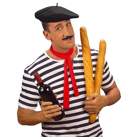 Basco francese cappello modello parigino copricapo accessorio per la testa  tipico degli artisti francesi quartiere di e8470be0c689