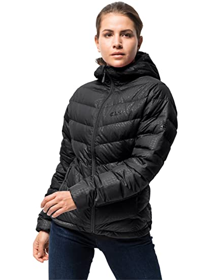 Jack Wolfskin Women's Helium Stardust Lightweight Windproof Down Puffer Jacket