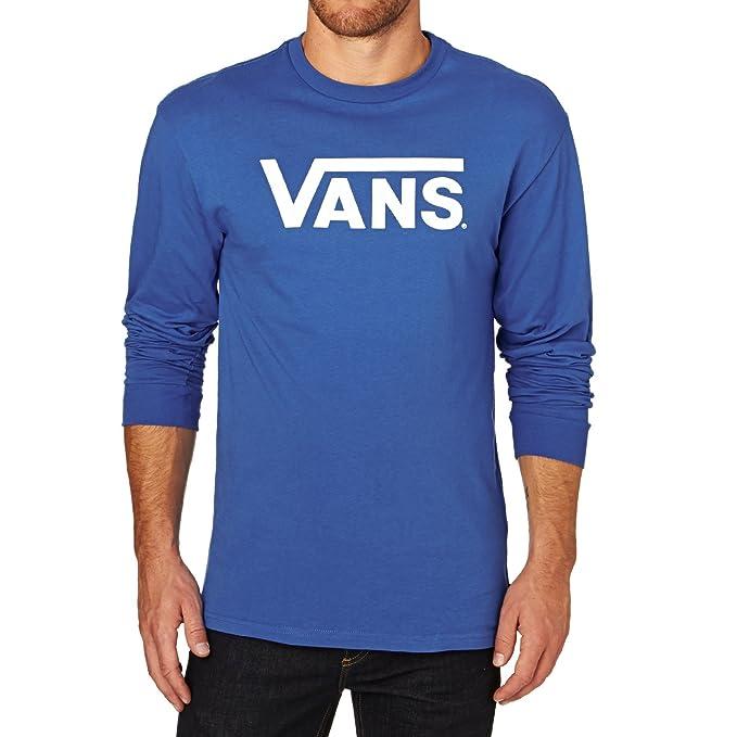 Vans - Camiseta de manga larga - Manga Larga - para hombre azul royal/bright white XS: Amazon.es: Ropa y accesorios