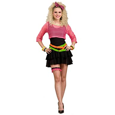 80s Groupie Costume Fancy Dress Amazon Co Uk Clothing