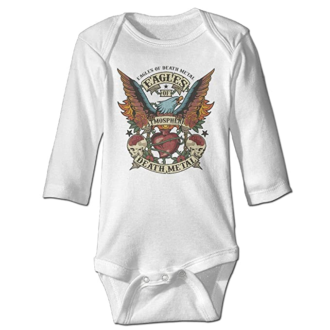 bc5ba2d12 Cool Eagles Band Logo Death Metal Don Henley Baby Onesies Newborn Clothes   Amazon.ca  Clothing   Accessories