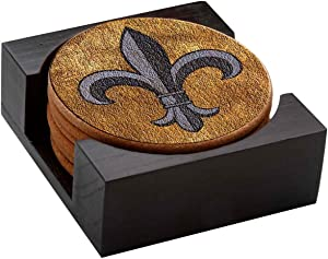 Thirstystone Fleur De Lis with Holder Included Cork Gift Set