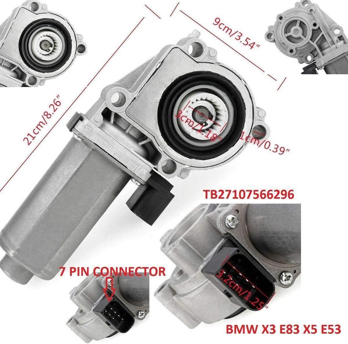 Scatola di trasferimento Attuatore VTG Hi Low Motor X3 E83 X5 E53 27107566296