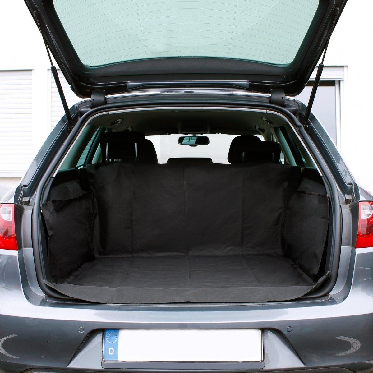 ECD Germany Protezione Bagliaiaio Auto 156 x170 cm Coperta Protezione Bagagiaio Auto per Animali Fodera Tappeto