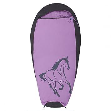 10T Outdoor Equipment 10T Horse Saco de Dormir de la Momia de los niños, Morado, Estándar: Amazon.es: Deportes y aire libre