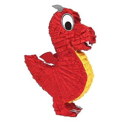 Aztec Imports Dragon Pinata (Colors may vary): Toys & Games