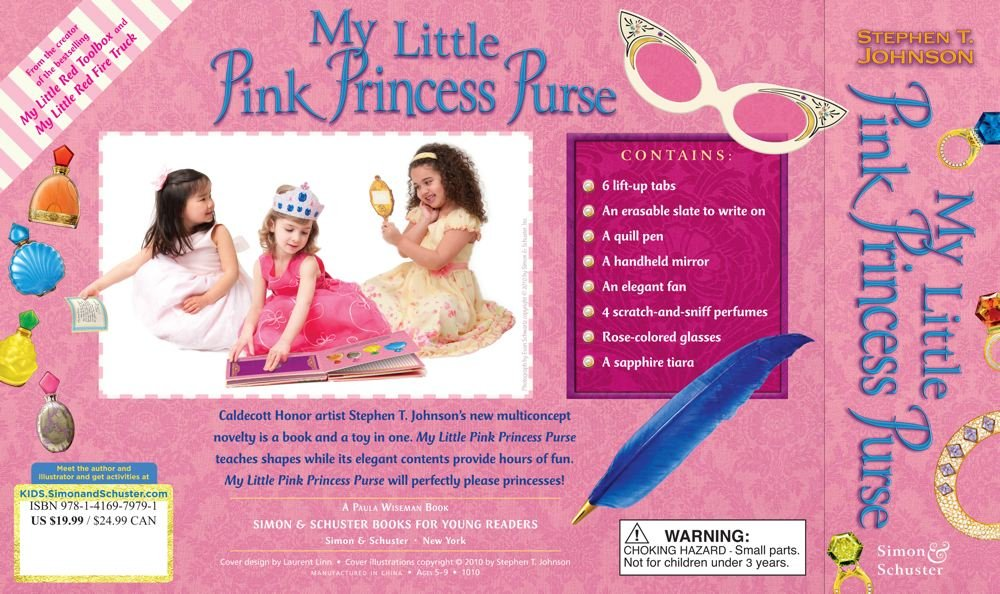 My Little Pink Princess Purse  Stephen T. Johnson  9781416979791   Amazon.com  Books 648c3df8a8672