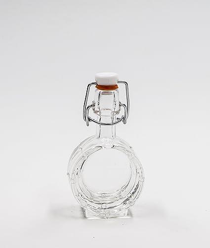 Covim nr 1 Botella Tambor 40 ML de Vidrio Blanco Tapón n°28