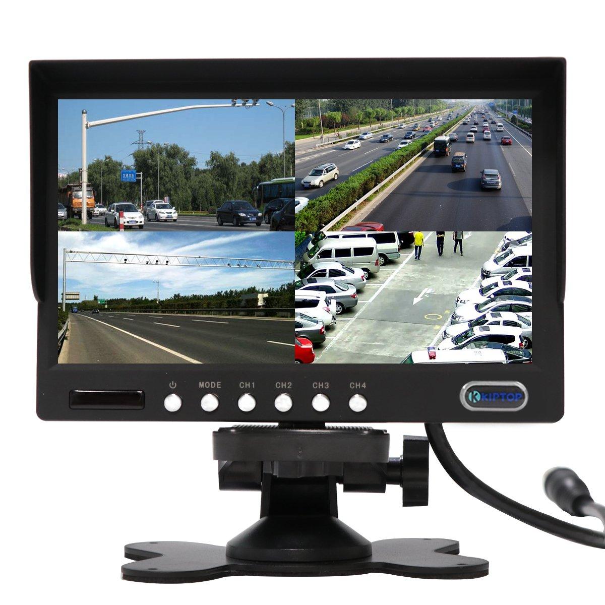 NOUVEUX 7 pouce Ecran camera de recul Kit IP67 camera é tanche avec câ ble 20 mè tres (12-24 Volt) pour camion/camping car/vé hicule KIPTOP CL3002-1