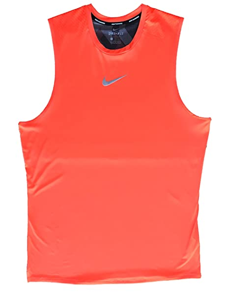 345c3d41 Image Unavailable. Image not available for. Color: Nike Men's Breathe Trail Sleeveless  Running Shirt
