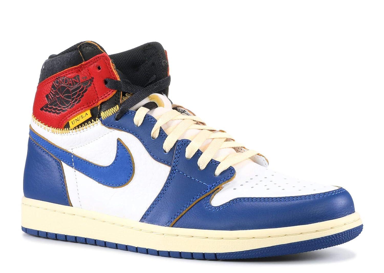 98cddbd16e8 Amazon.com   Jordan 1 Retro High Union Los Angeles Black Toe Mens   Fashion  Sneakers