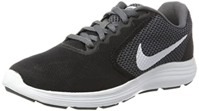 NIKE Men's Revolution 3 Running Shoes (8.5 D(M) US, Dark Grey