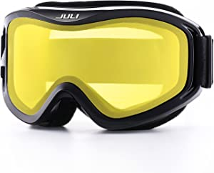 Juli Ski Goggles,Snow Snowboard Goggles Men Women Snowmobile Skiing Skating