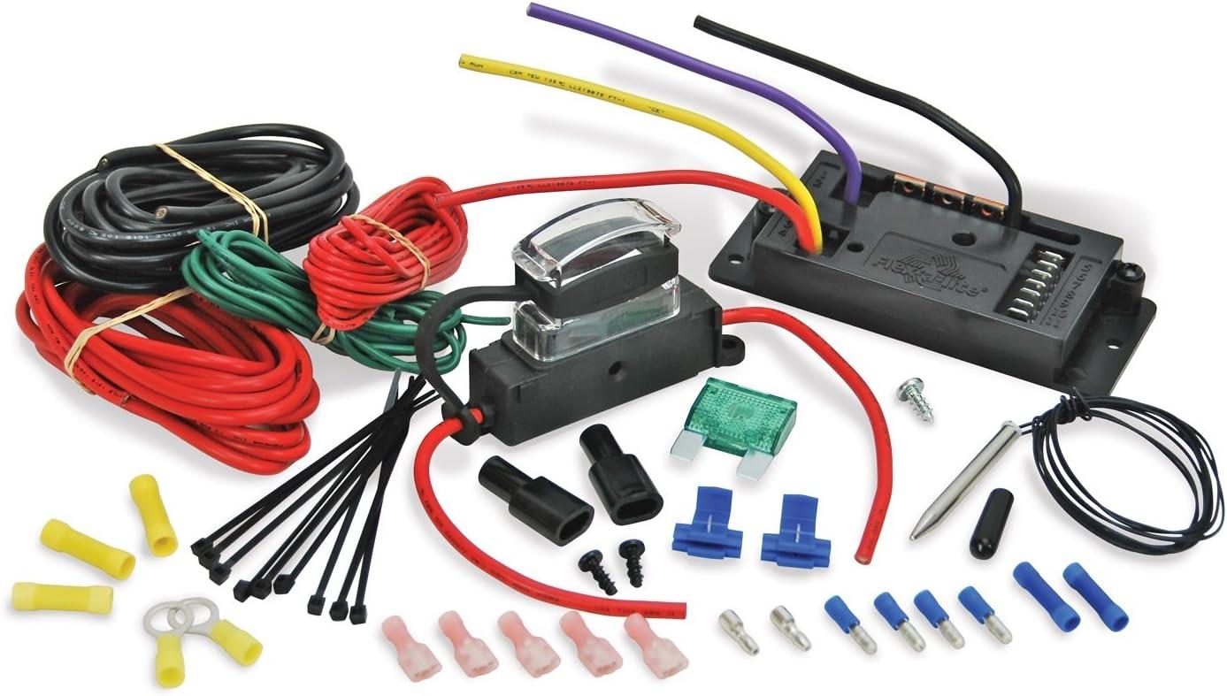 jeep jk wire diagram electric fan amazon com flex a lite 31165 variable speed control module  amazon com flex a lite 31165 variable