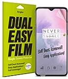 [2枚] OnePlus 7 保護フィルム スクリーン保護フィルム Ringke 超薄 [Invisible Defender] Dual Easy Full Coverage 前面フルカバレッジ ソフトフィルム [2枚] OnePlus 7 ケース 対応