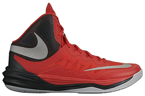 competitive price 6ab58 45869 Nike Men s Prime Hype DF II Basketball Shoe Red Black Grey Reflect Silver 9  D(M) US  Buy Online at Low Prices in India - Amazon.in