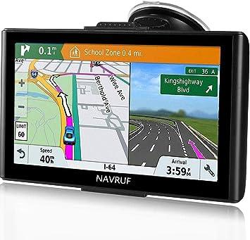 GPS para Coche Pantalla Táctil de 7 Pulgadas Navegador GPS Mapas de la UE preinstalados actualizaciones de por Vida: Amazon.es: Electrónica