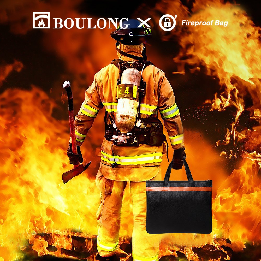 Boulong Fireproof Document Bag 15\
