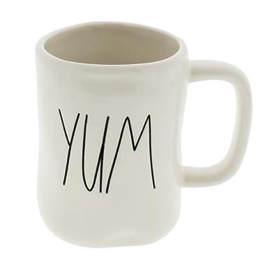 Rae Dunn by Magenta YUM Ceramic LL Coffee Mug