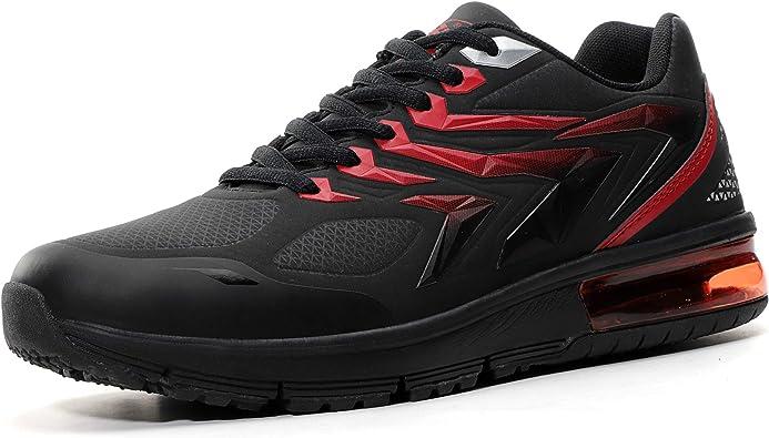 Ax Boxing - Zapatillas de deporte para hombre, transpirables, ligeras, talla 40-46, color Negro, talla 43 EU: Amazon.es: Zapatos y complementos