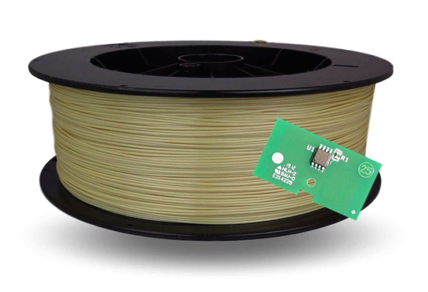 Stratasys Refill for Fortus Ultem 9085 PEI 3D Filament 92in3 includes EEPROM