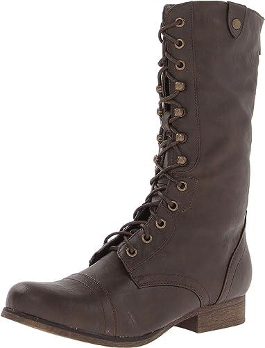 Madden Girl Madden Girl WoMen Gizmoo Boot Brown Paris For Sale Online
