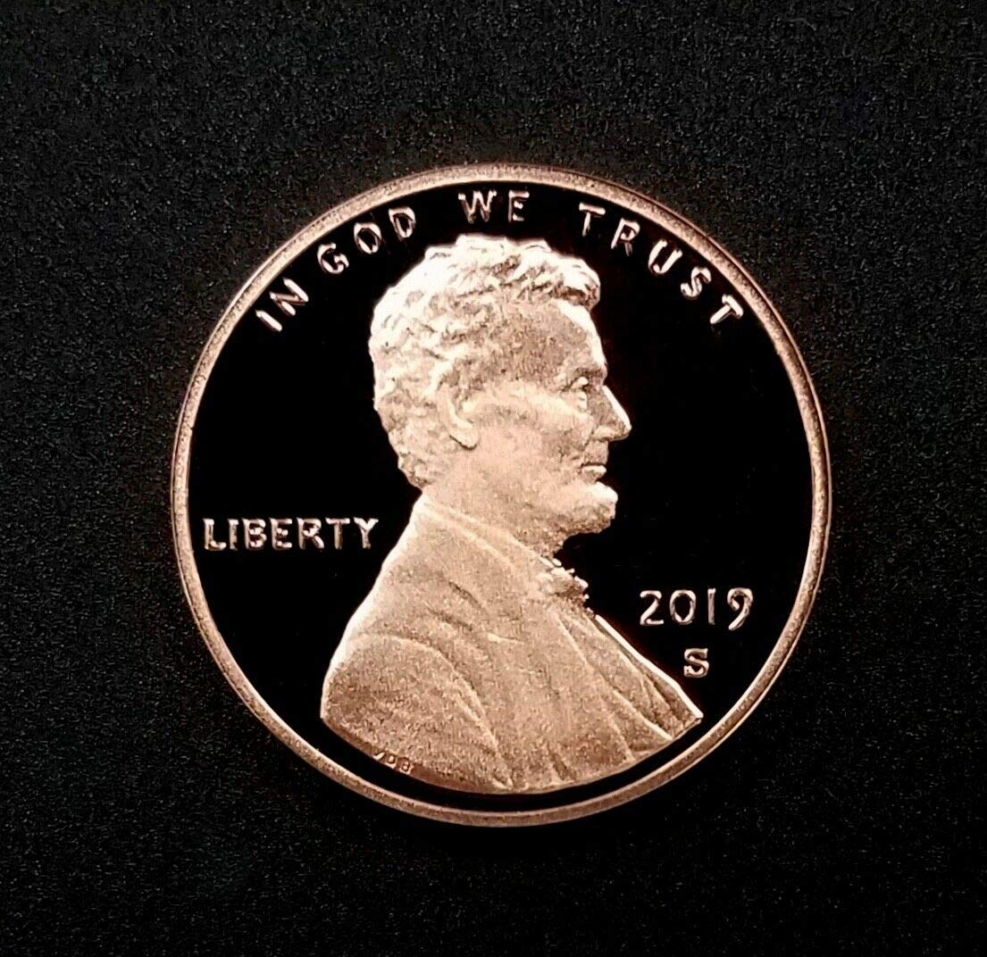 1981 S Lincoln Cent GEM DCAM PROOF from PROOF Set
