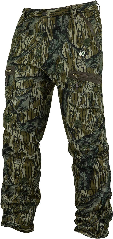 Mossy Oak Mens Men's Camo Sherpa 2.0 Fleece Lined Hunting Pants
