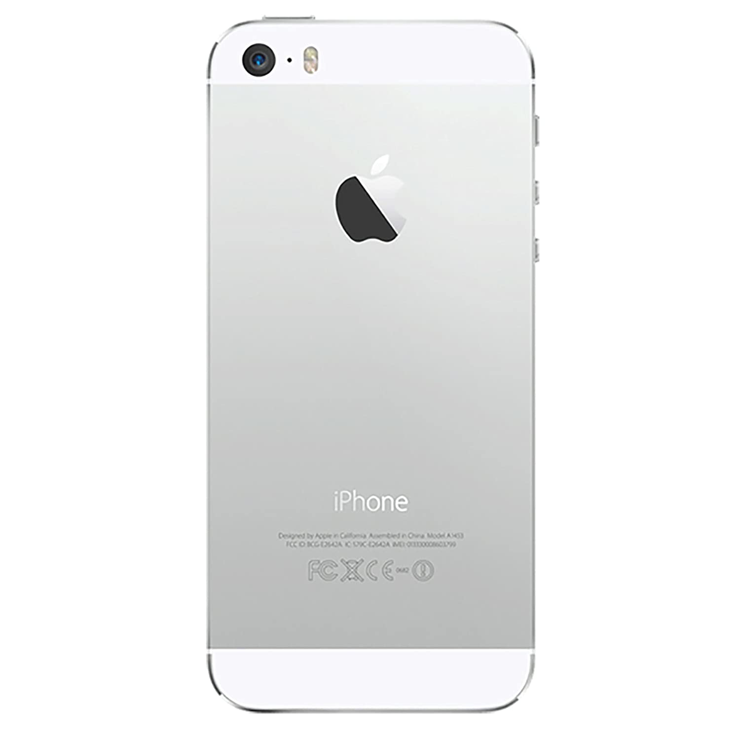 amazon com apple iphone 5s 16 gb unlocked silver cell phones